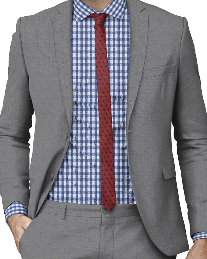 Custom Made Med Gray Suits