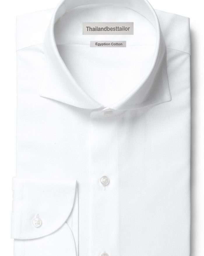 Cutaway Collar White Dress Shirts