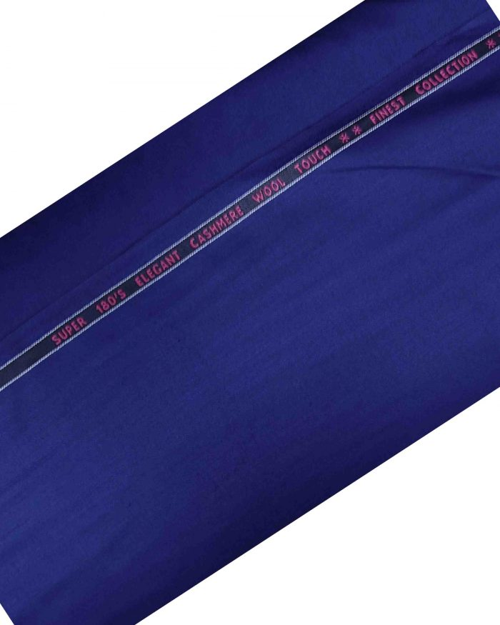 Cashmere Wool Light Blue Suiting Fabric